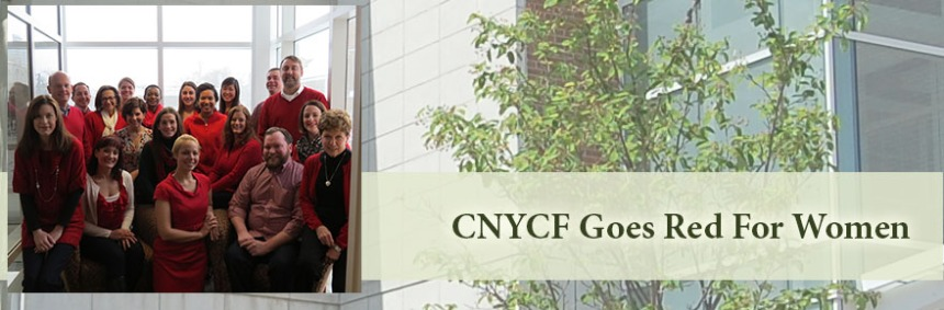 CNYCF goes red for women