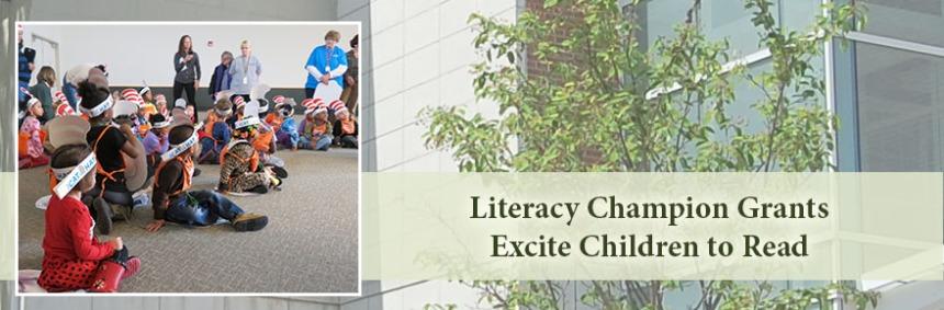 Literacy Champion Grants help Pre-K Children